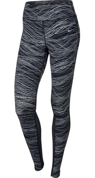 Nike Power Epic Lux Running hardloopbroek Dames grijs/zwart